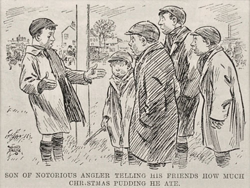 Alfred Leete Punch Magazine Cartoon