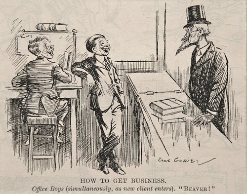 Charles Grave Punch Magazine Cartoon