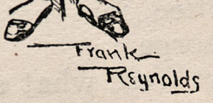 Frank Reynolds Punch Magazine Artist Signature