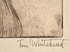 Tom Whitehead artist signature